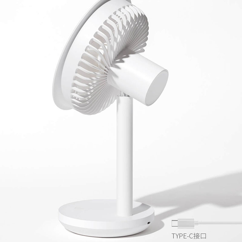 Xiaomi SOLOVE Desktop Fan 60   Shaking Head Height ,Wind Speed Adjustable 4000mAh USB Chargeable Light Portable Fan Home Office-in Smart Remote Control from Consumer Electronics    2