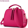 FLYING BIRDS! women handbag luxury women bags designer leather handbags famous brands bolsas messenger bag purse 2016 LS4674fb