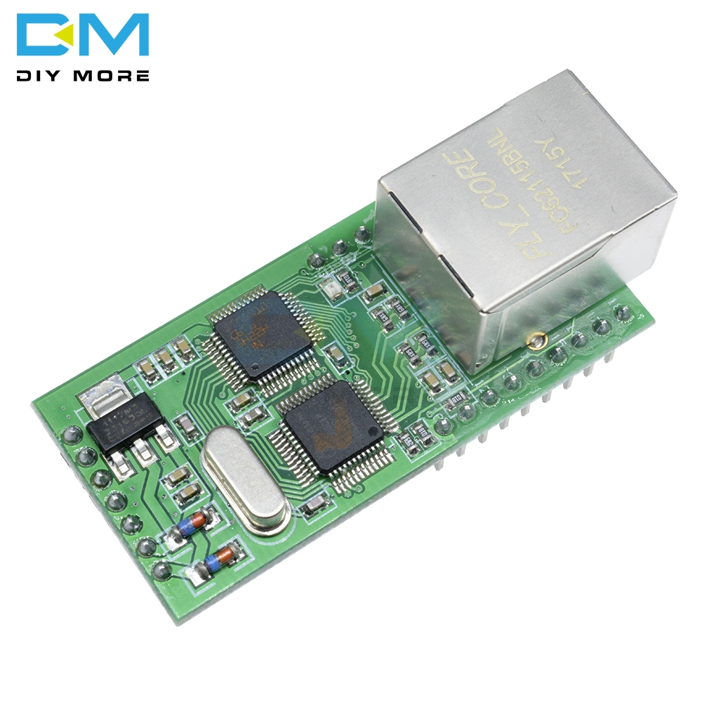 Top Ethernet to TTL RS232 Serial TTL to TCP / IP RJ45 Converter Transmission 18 IO Network Control Board Module 100M LANTop Ethernet to TTL RS232 Serial TTL to TCP / IP RJ45 Converter Transmission 18 IO Network Control Board Module 100M LAN