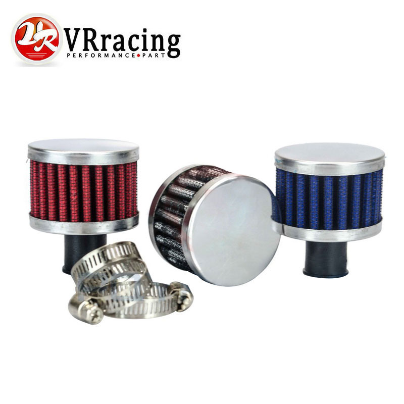 VR RACING - Universal super power flow Air Filter 51*51*40 Neck: 12mm High Quality Auto Air Intake Filter for car VR-AIT12