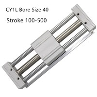 CY1L40 CY1L RMTL Magnetically Coupled Rodless SMC Air Cylinder CY1L40 100 CY1L40 200 CY1L40 300 CY1L40 400 CY1L40 500