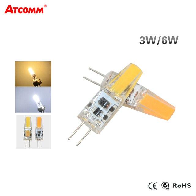 G4 LED Diode Lamp 12V 3W 6W High Brightness Flicker Free Cob LED G4 ...