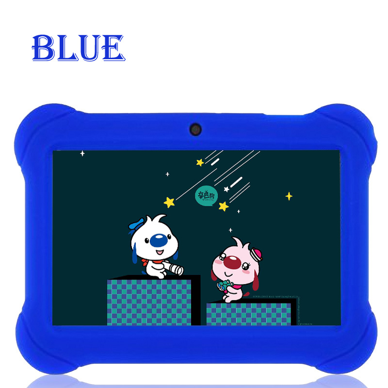 BDF New design 7 inch Tablet for Baby Children Gift Game Apps Android 4.4 WiFi Dual camera Quad Core Tablet pc 7 8 9 10 10. цена
