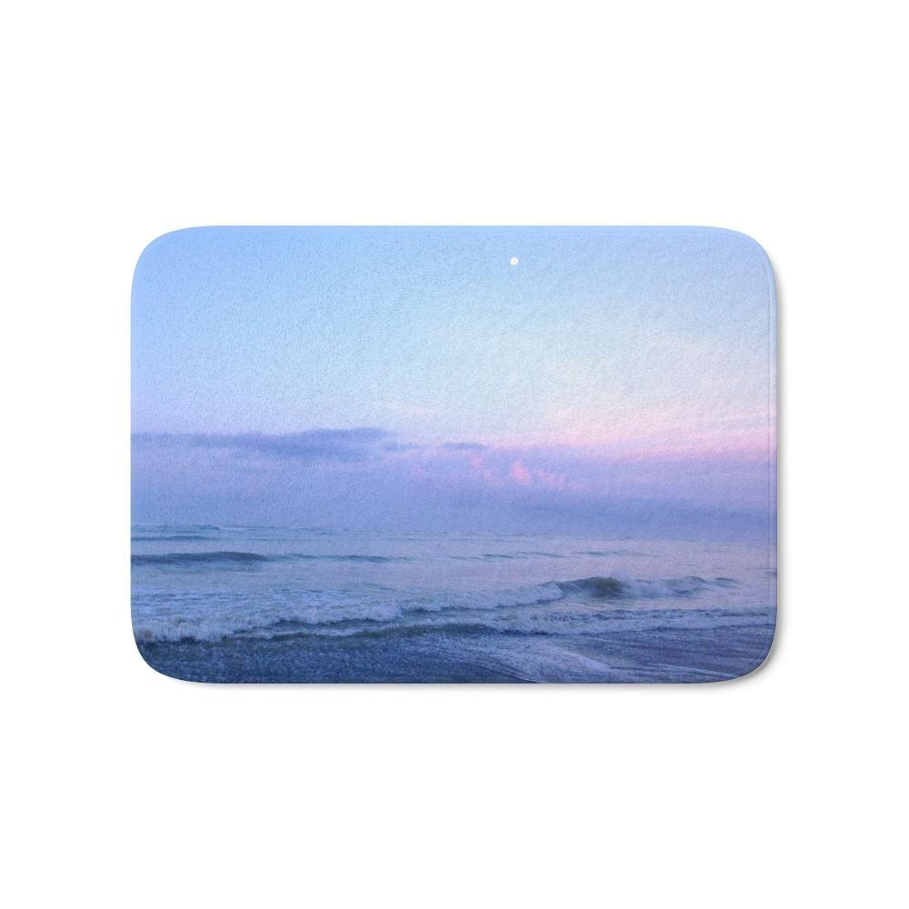 Moonrise Bath Mat Bath Mat Entrance Door Mat Bathroom Kitchen Carpets Doormats for Livin ...