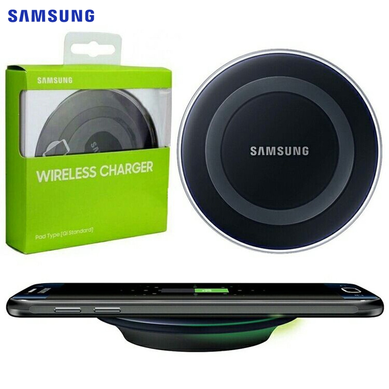 SAMSUNG Original Qi Drahtlose Ladegerät EP-PG920I für Samsung Galaxy S6 S6Edge S6 rand Plus S8 + S8Plus Note5 Note 5 s7 rand iPhoneX