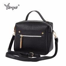 YBYT бренд 2018, новая мода повседневное из искусственной кожи для женщин Распродажа сумочек дамы покупки bga плеча сумки через плечо