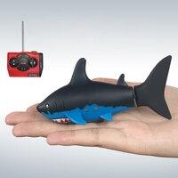 Barco DEL RC Mini Peces Nadando Creativo Animal Sacudir Peces 4CH Giro de Voladizo en Forma de Remo Control Remoto Electrónico de Agua Juguetes Aficiones