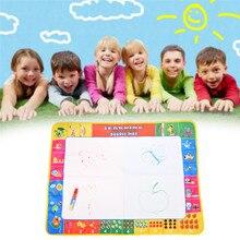 80X60 см 72X49 см 2 размера волшебный водный коврик с 1 волшебной ручкой/доска для рисования водой/водный коврик/коврик для аквапуделя для детских игрушек