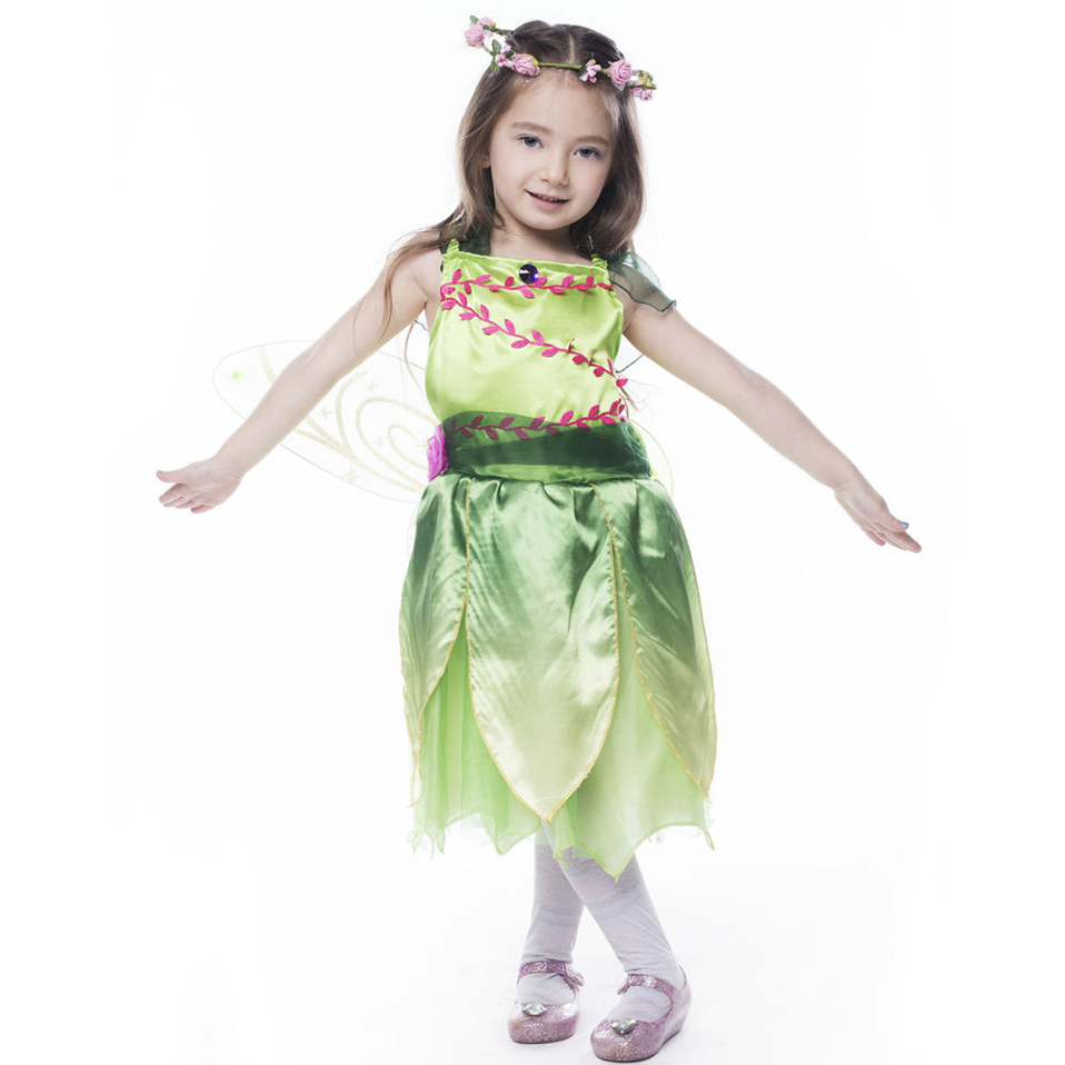 Flower Fairy Princess Dress Girls 39 Dresses Kindergarten Performance Birthday Party Ball with Wing Skirt Performance Dress Up in Boys Costumes from Novelty amp Special Use