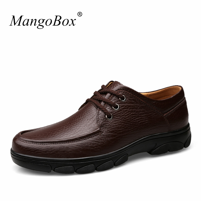 MangoBox Men Leather Shoes Genuine Leather Black Shoes Men Top Quality Mens Shoes Italy Luxury Men Shoes hot sale mens italian style flat shoes genuine leather handmade men casual flats top quality oxford shoes men leather shoes