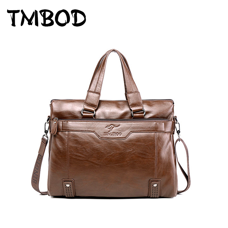 NEW 2017 Brand Men Business Messenger Bag Split Leather Handbags Casual Tote Briefcase Crossbody Shoulder Bags bolsa an381