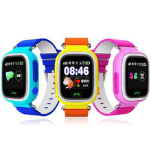 GPS Q90 Contact Display WIFI Positioning Sensible Watch Kids SOS Name Location Finder Machine Tracker Child Protected Anti Misplaced Monitor