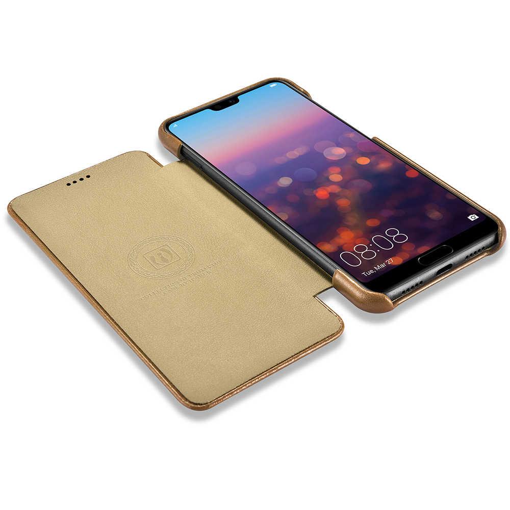 Ban Đầu Hàng Hiệu Icarer Retro Chính Hãng Da Điện Cho Huawei P20 PRO iPhone 11 Pro XS Max XR 8 7 Plus samsung S9 + Plus Note8 Note 9