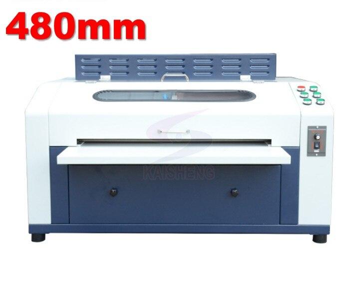 Enduit UV professionnel de vernis UV de Machine 480mm 18 pouces pour le papier de Flyers de PhotosEnduit UV professionnel de vernis UV de Machine 480mm 18 pouces pour le papier de Flyers de Photos