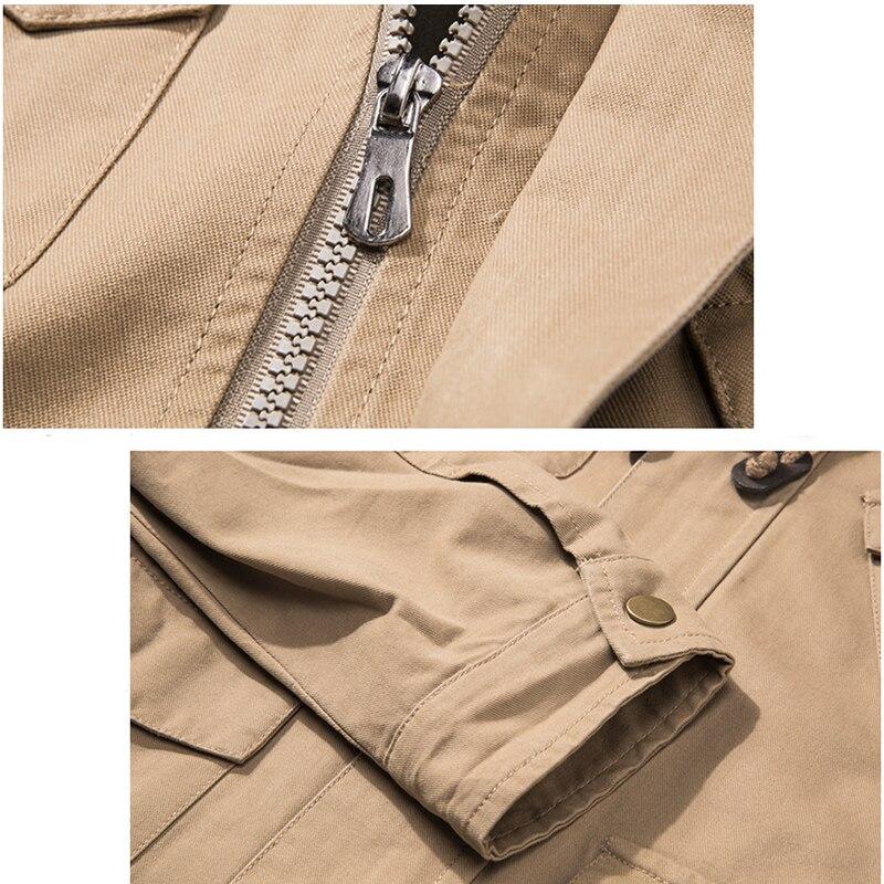 LetsKeep New Jersey xhaketë bombe ushtarake burra taktike ushtarake - Veshje për meshkuj - Foto 5