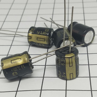 Pçs/lote 50 originais 1500 UF 6.3 V 10*13mm Kapasitor Padat Kartu Grafis Motherboard Kapasitor IC