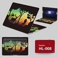 2017 Ноутбук StickersDecal Наклейки ПВХ Шкуры Пыле ABC Стороны + Ключи + Клавиша Промежуток Наклейки Для lenovo G480 G490 G450 Случае