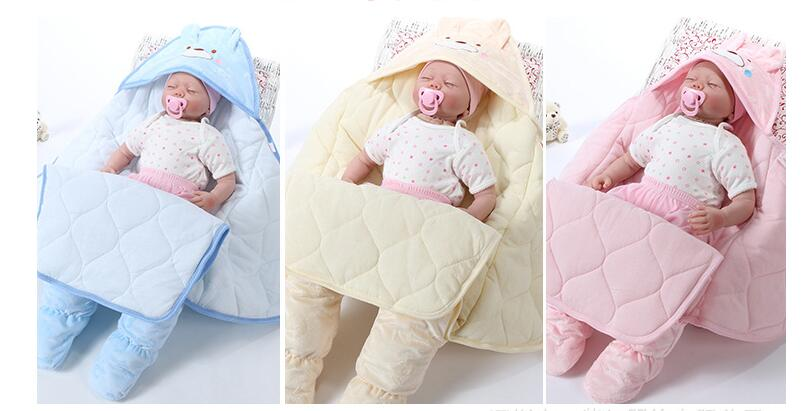 2 Size Winter Baby Sleeping Bags Newborn Package Feet Cocoon Wrap Sleepsack  Sleeping Bag Baby Receiving Blanket   Swaddling. Salvează produsul. Mărește  ... be241b4a1