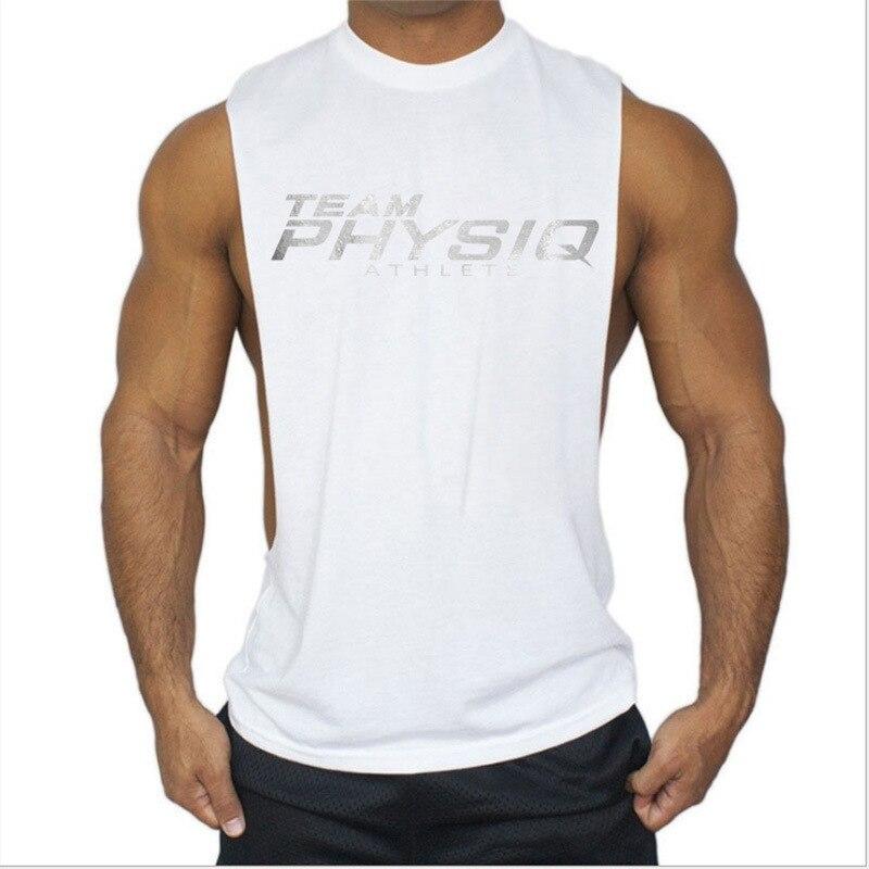 cd665d20c1 Atacado Personalizado Dry Fit Musculação Poliéster Bolso Parte Superior Do  Tanque Ginásio de Esportes Dos Homens