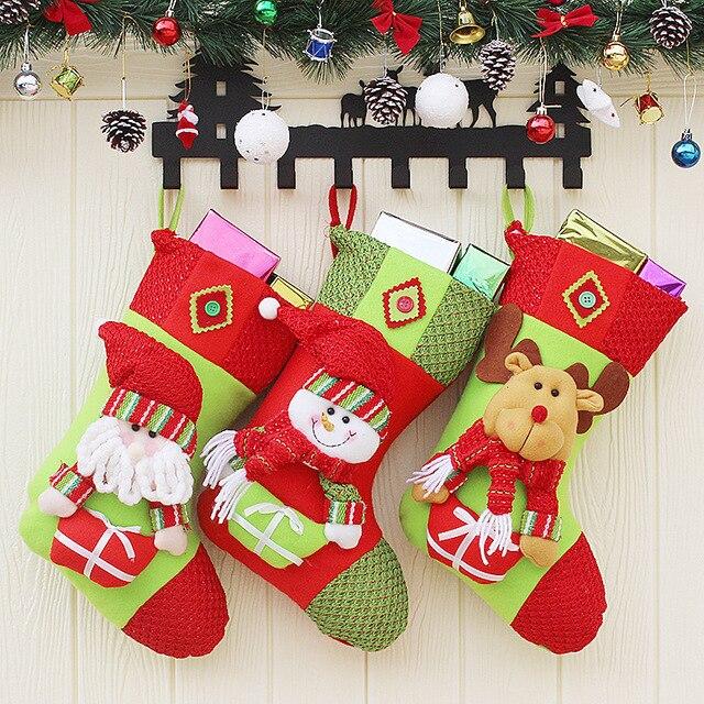 Kreative Weihnachtsgeschenke.Us 12 99 Kreative Weihnachtsgeschenke Von Hochwertigen Tuchkunst Die Alten Hang Weihnachtsgeschenk Dekoration Weihnachten Strümpfe In Kreative