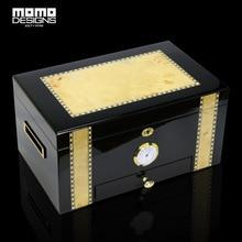Здесь можно купить   100ct Cigar humidor box with drawer Luxury Handicraft Wooden Boxes COHIBA cigar accessories storage case Home Storage & Organization