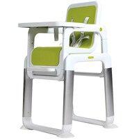 Бренд Детские En металл высокий стул> 6 месяцев чехол разделение игрушечный стульчик для кормления Детские многофункционал портативный стол