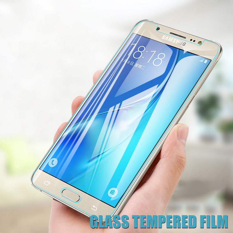 9H Protection Glass On The For Samsung Galaxy A3 A5 A7 J3 J5 J7 2015 2016 2017 2018 Version Phone Screen Protector Glass Film