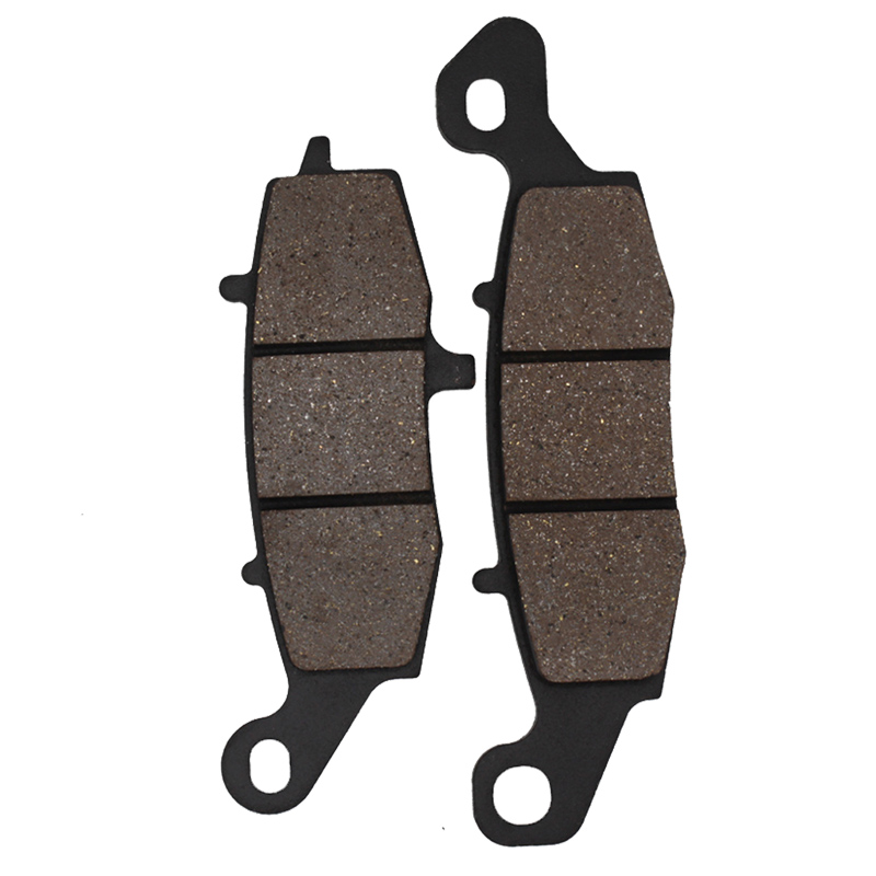 Cyleto Motorcycle Front Left Brake Pad for KAWASAKI VN 1700 Vulcan Classic 2009-2012 VN1700 Classic 2010 2011 2012 2013