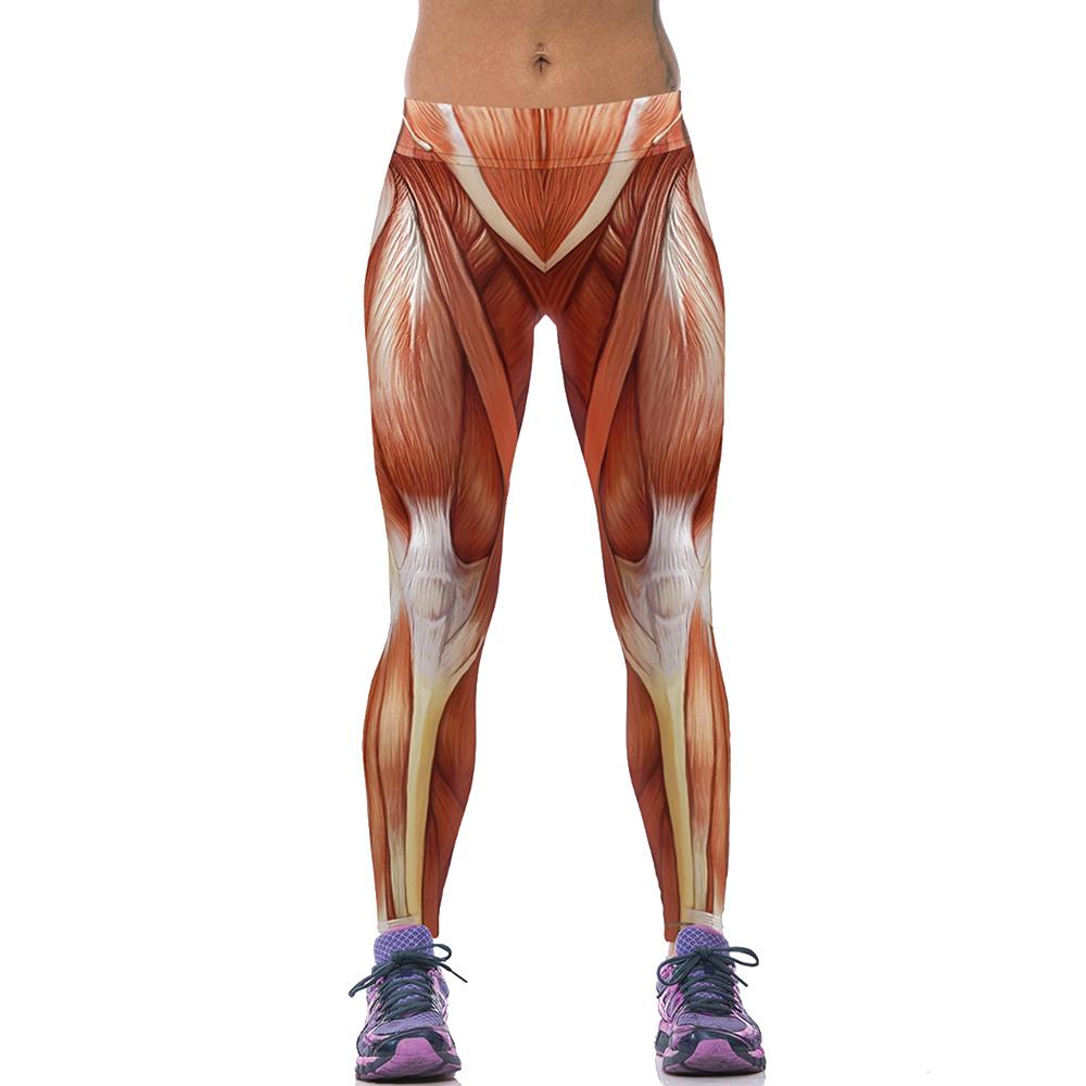 EAST-KNITTING-F1473-Fashion-Women-New-Sports-Leggings-3D-Sexy-Muscle-long-length-leggings-