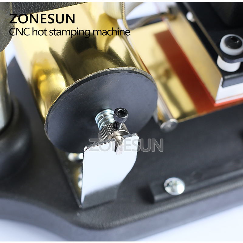 Image 5 - ZONESUN  220V/110V Manual Gold Hot Foil Stamping Machine Tipper Machine,Card Tipper for Leather, PVC Card +2FREE FOmachine machinemachine stampingmachine gold -