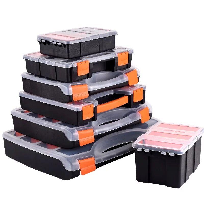 Praktische ABS kunststoff schraube werkzeug lagerung box mit locking schraubendreher hardware zubehör toolbox auto repair tool box
