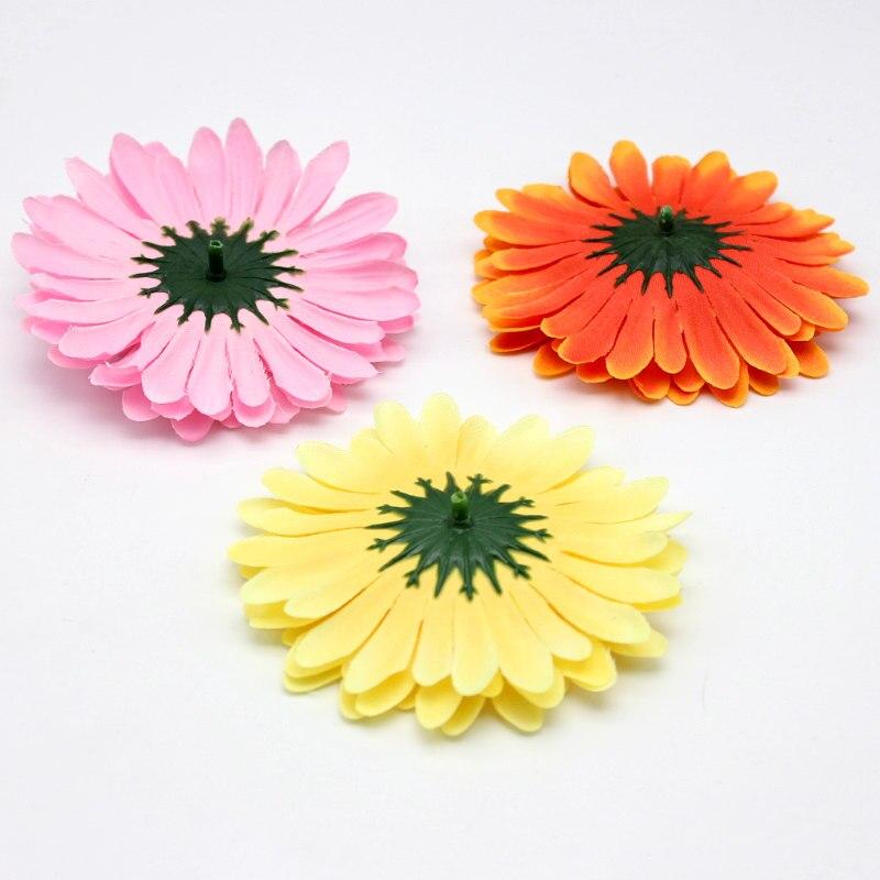 10 Pcs Bunga Sutra Bunga Matahari Tulip Ball Karangan Bunga Bunga ... 473cd5c268