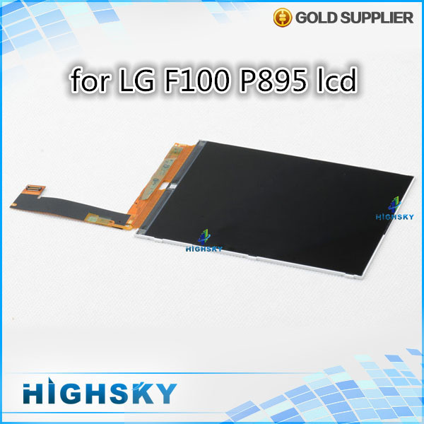 1 piece HK free shipping 100% new tested replacement lcd for LG Optimus Vu F100 P895 display