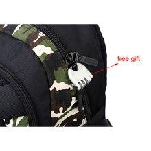 KAKA Waterproof Camouflage Oxford Unisex Shoulder Bag