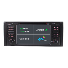 2 г Оперативная память Android 7.1 dvd-плеер автомобиля для BMW/E39/X5/E53 автомобиль Райдо GPS навигации стерео с Bluetooth SWC 4 г WI-FI поддержка