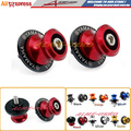M6 Swingarm Sliders Spools stand screws For Yamaha YZF R1 1998-2014 , R6 1999-2014 R6S MT-09 FZ6 FZ8 FZ1 XJR 1300 Red