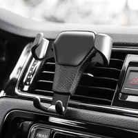 Smart Auto Telefon Halter Schwerkraft Universal Mobile Auto Telefon Ständer Halter Air Vent Halterung Cradle Telefon Halter clip für iPhone GPS