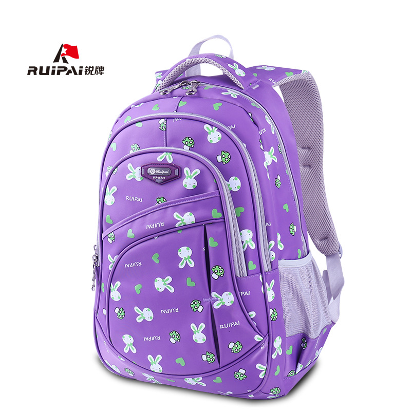 2018 School Bags For Teenagers Boys Girls rabbit printing Women Backpack Students Backpacks School Backpack Kids Child Book Bag купить