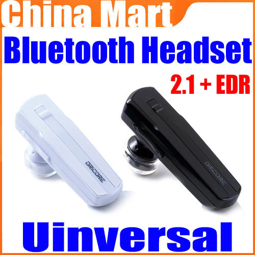Universal V2.1+EDR Class2 Bluetooth Stereo Headset Earphone for Your All Device Free Shipping+Drop Shipping