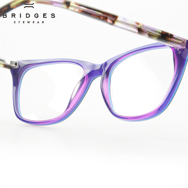 BRIDGES EYEWEAR Women Stylish Brand Designer Acetate Optical Glasses - Kläder tillbehör - Foto 5
