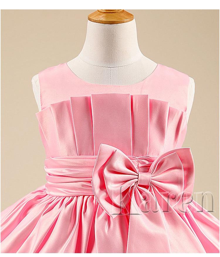 Encargo fruncido De primera comunión Vestidos para niñas envío ...