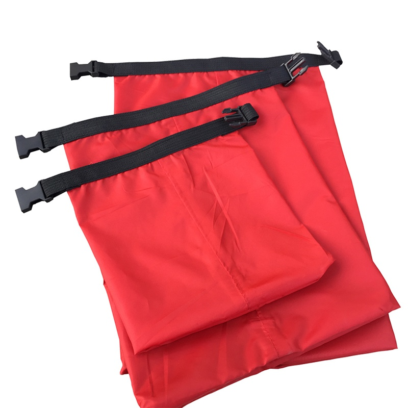 2019 Coated Silicone Fabric Pressure Waterproof Dry Bag Storage Pouch Rafting Canoeing Boating Dry Bag 1.5/2.5/3.5/4.5/6 L
