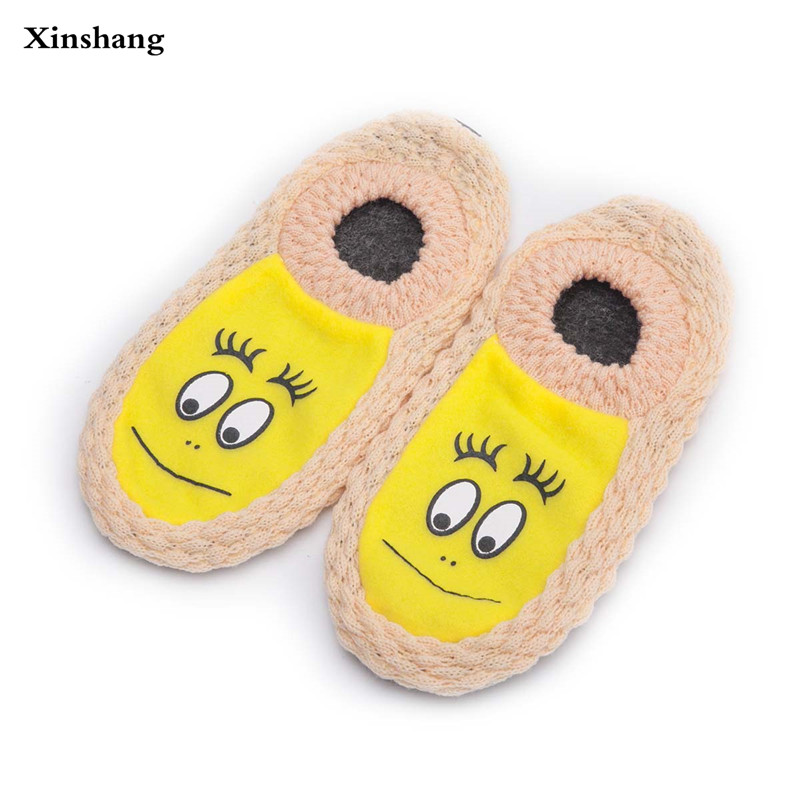 2017 New Fashion Plush Women Indoor Slippers Warm Slippers Shoes Plus Size Autumn Winter House Bedroom Flats Comfortable Socks autumn winter slippers 2017 women s slippers winter flats cotton sheep lovers home slippers indoor plush size house shoes woman