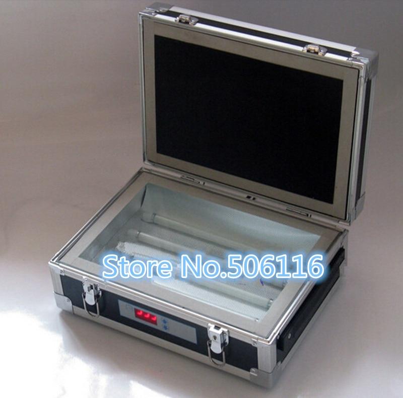 Single Side UV Light Exposure Machine UV Photosensitive Plate PCB Exposure Box
