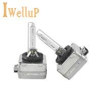 Iwellup Echt Originele 2 STKS/een paar OEM D1S HID xenon lamp lamp auto koplamp 4300 K, 6000 K, 8000 K