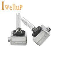 Iwellup Genuine Original 2 PCS One Pair OEM D1S HID Xenon Bulb Lamp Car Headlight 4300K