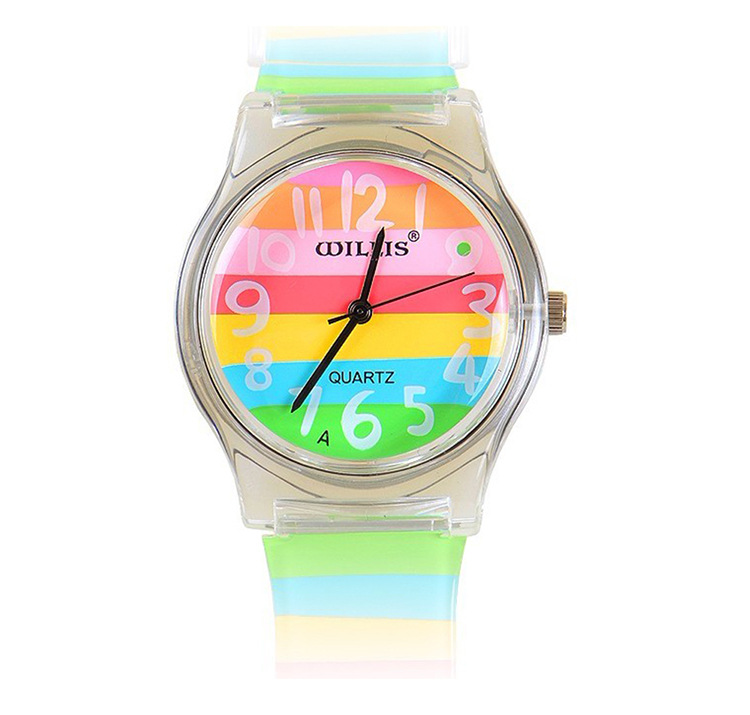 Children's Watches 100% True Willis Watch For Children Shield Design For Kids Students Fashion Flower High Heels Cherry Snail Tree Pattern Analog Wrist Watch
