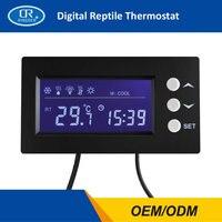 RINGDER TC 100 0 50C ON OFF Digital Reptile Thermostat Timer Terrarium Regulator Pet Temperature Controller Gauge Instrument