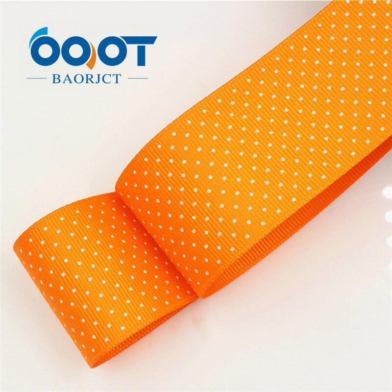 OOOT BAORICT 176222, белый горошек корсажная лента, 38 мм, 10 ярдов лента для шитья, DIY головной убор аксессуары ручной работы - Цвет: 0024