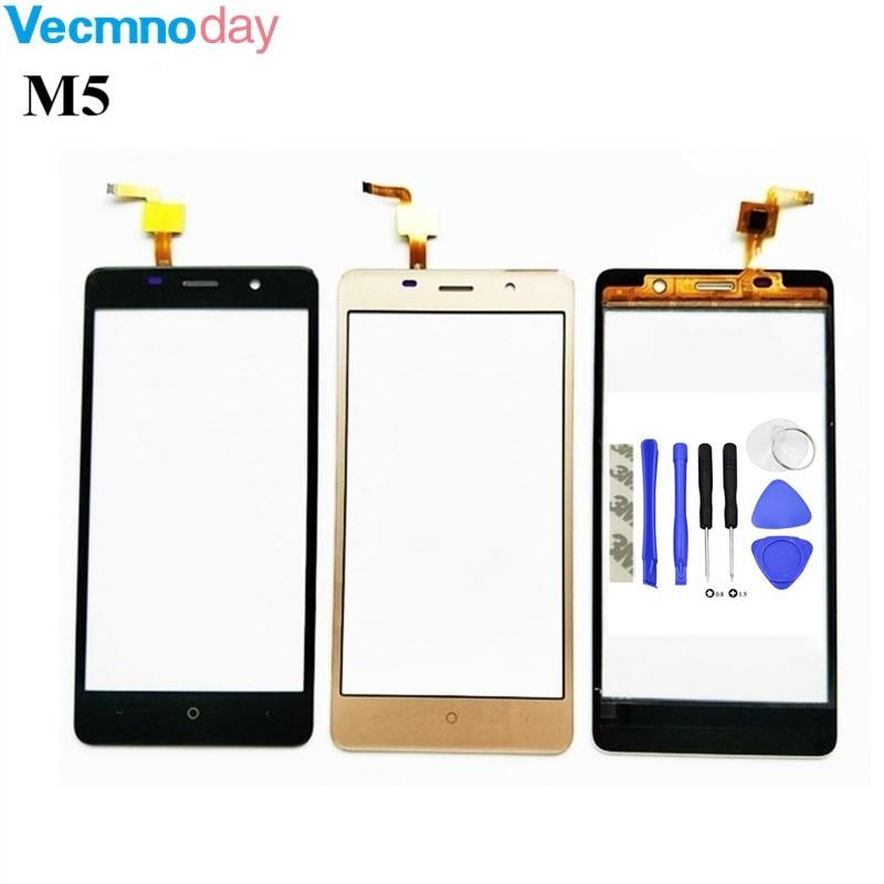 Vecmnoday For Leagoo M5 Digitizer TouchScreen 100% Guarantee Original Glass Panel Touch Screen Digitizer + tools
